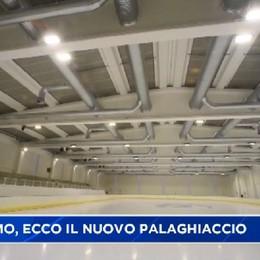 Bergamo, ecco il nuovo palaghiaccio