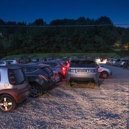 Astino, lavori al  campo del parcheggio Ma posti auto legati a eventi culturali