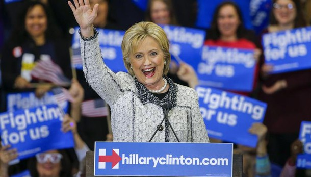 Hillary vince in South Carolina