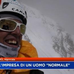 Le prime parole di Simone Moro:L'impresa di un uomo normale che insegue i suoi sogni