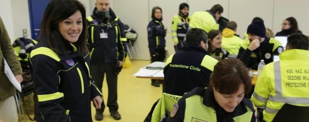 Maxi emergenza sismica a Filago È un'esercitazione della Protezione civile