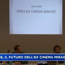 Clusone, il futuro dell'area ex cinema Mirage