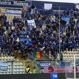 I tifosi dell'Atalanta a Carpi