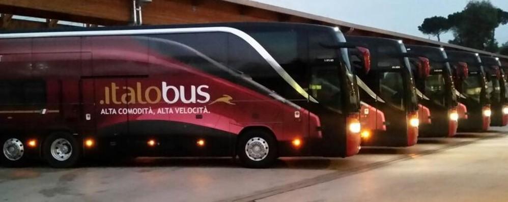 Italo, l'alta velocità viaggia sul bus «Servizio speciale Bergamo-Milano»