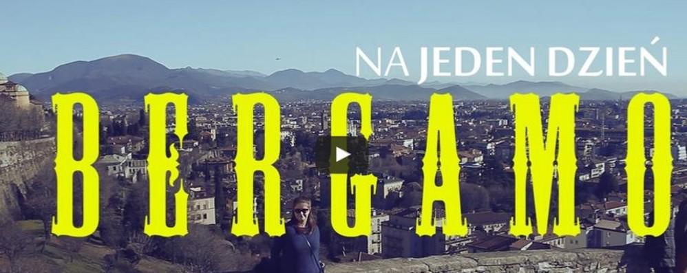 Bergamo vista da un blogger polacco «Atmosfera medievale» - guarda il video