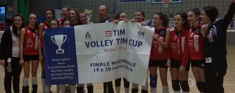 Brave le ragazze del volley di Bariano In campo a Ravenna al Volley TIM Cup