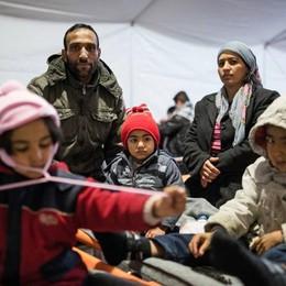 Daniela di Foppolo,  al confine macedone: «Il dolore dei bimbi malati e tanti anziani»