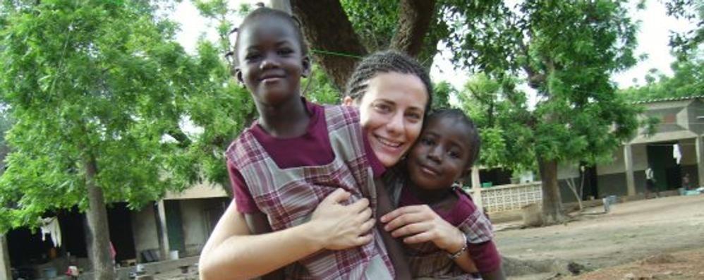 Addio banca, a Dakar a far studiare le bambine