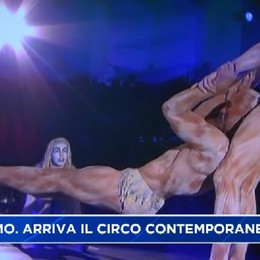 A Bergamo il 8,9 e 10 aprile arriva il circo contemporaneo