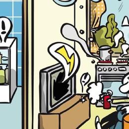 Casa, scuola o in ufficio Tira proprio una brutta aria