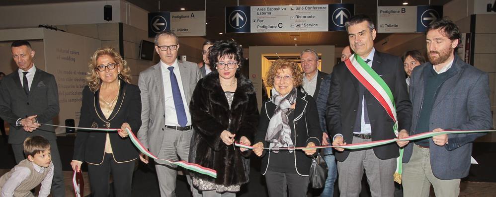 Bergamo Sposi, decolla la kermesse Tre giorni fra stand e sfilate  - Foto /video