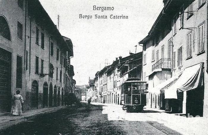 Borgo Santa Caterina, inizio Novecento