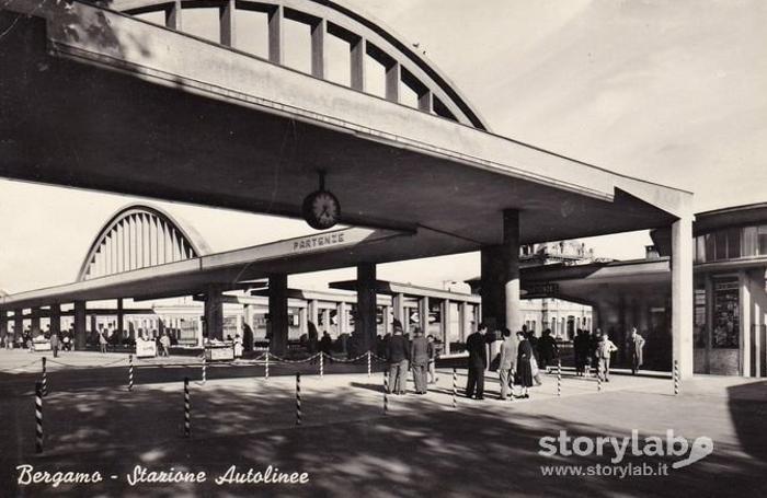 Stazione autolinee, anni 60