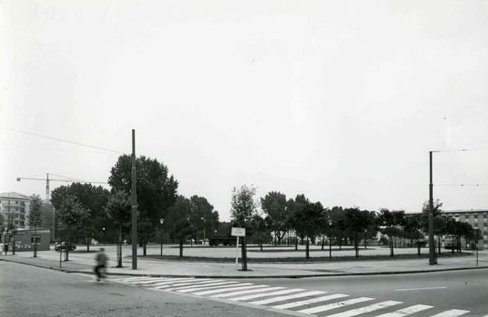 Il piazzale della Malpensata negli anni 60