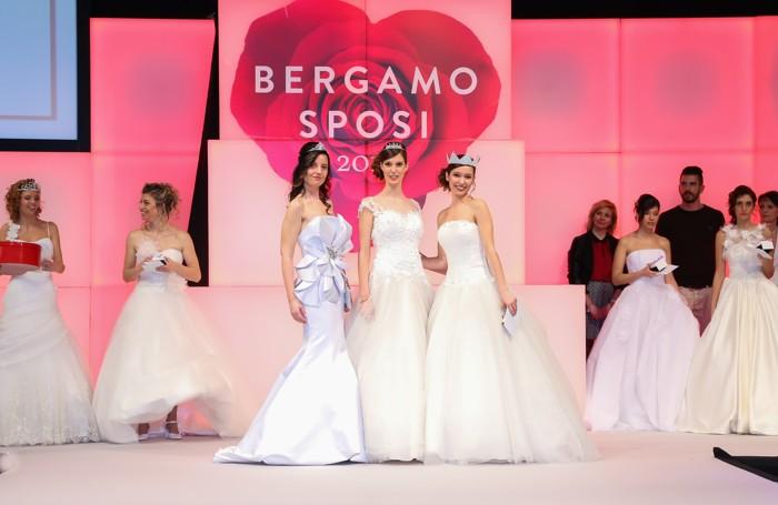 Da destra a sinistra le prime tre classificate: Janaina Tessari, Sharon Rocchi e Romina Sirani