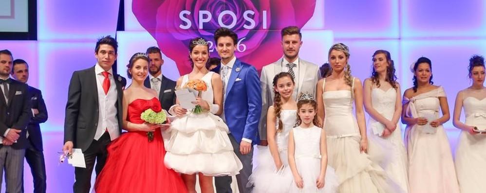 Bergamo Sposi tra amore e moda Ecco le coppie vincenti