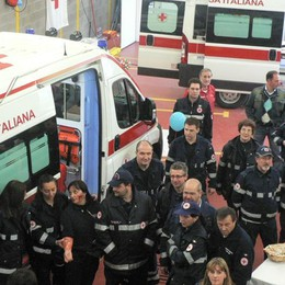 Croce Rossa Seriate, boom di volontari Ma servono fondi per i nuovi mezzi