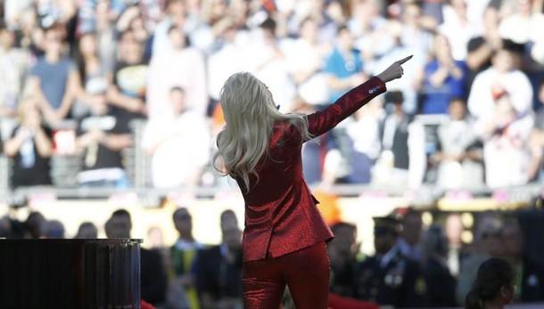 Superbowl: Lady Gaga, cantare inno sogno