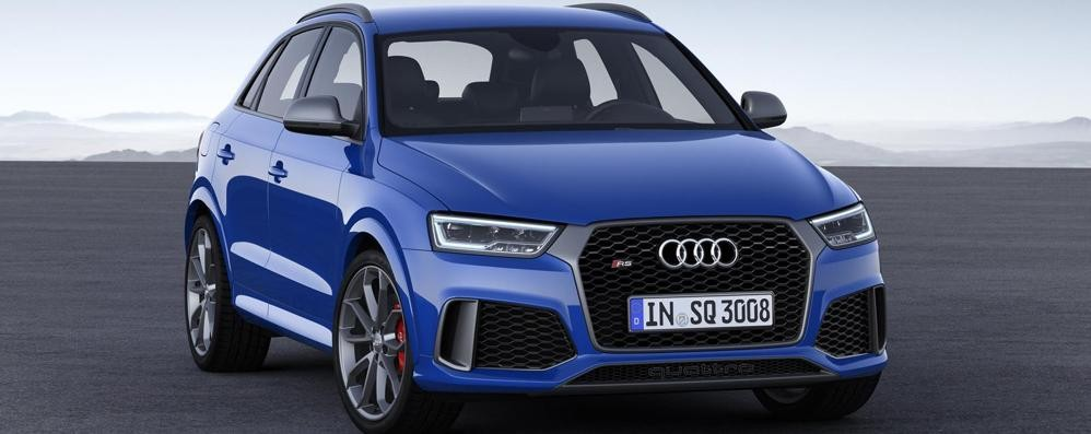 Verso Ginevra/2 Audi RS Q3 Performance