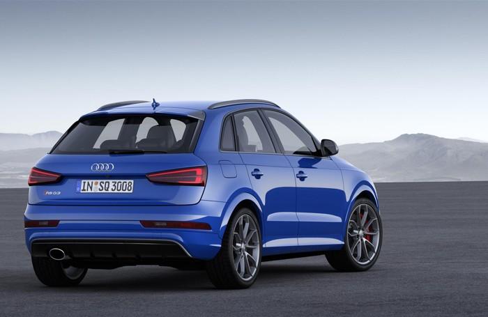 L'Audi RS Q3