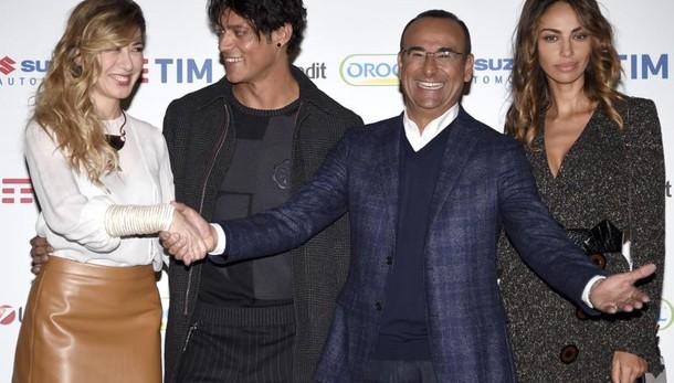 Sanremo: Conti, l'uscita dei Big in gara