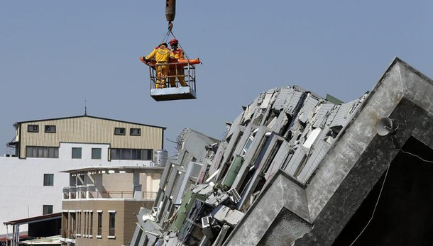Taiwan: due superstiti a 48 ore da sisma