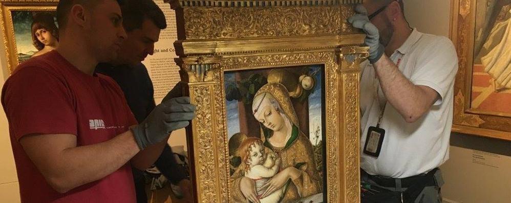 Carrara, nuovo gioiello da Londra La Madonna col bambino di Crivelli - Foto