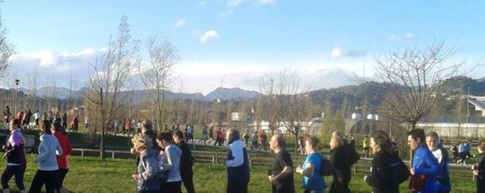 Da 0 a 10 mila con i Runners Bergamo Si ricomincia al Parco della Trucca
