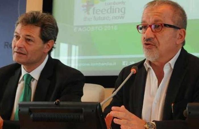 Fabio Rizzi e Roberto Maroni