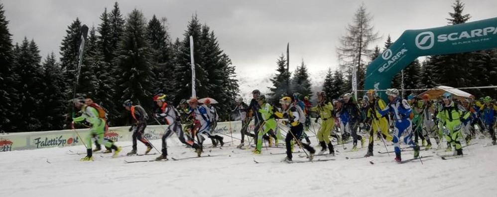 Scialpinismo agli Spiazzi Vince il «vecio» Lanfranchi