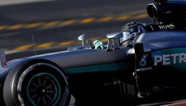 Test Barcellona: Rosberg il più veloce