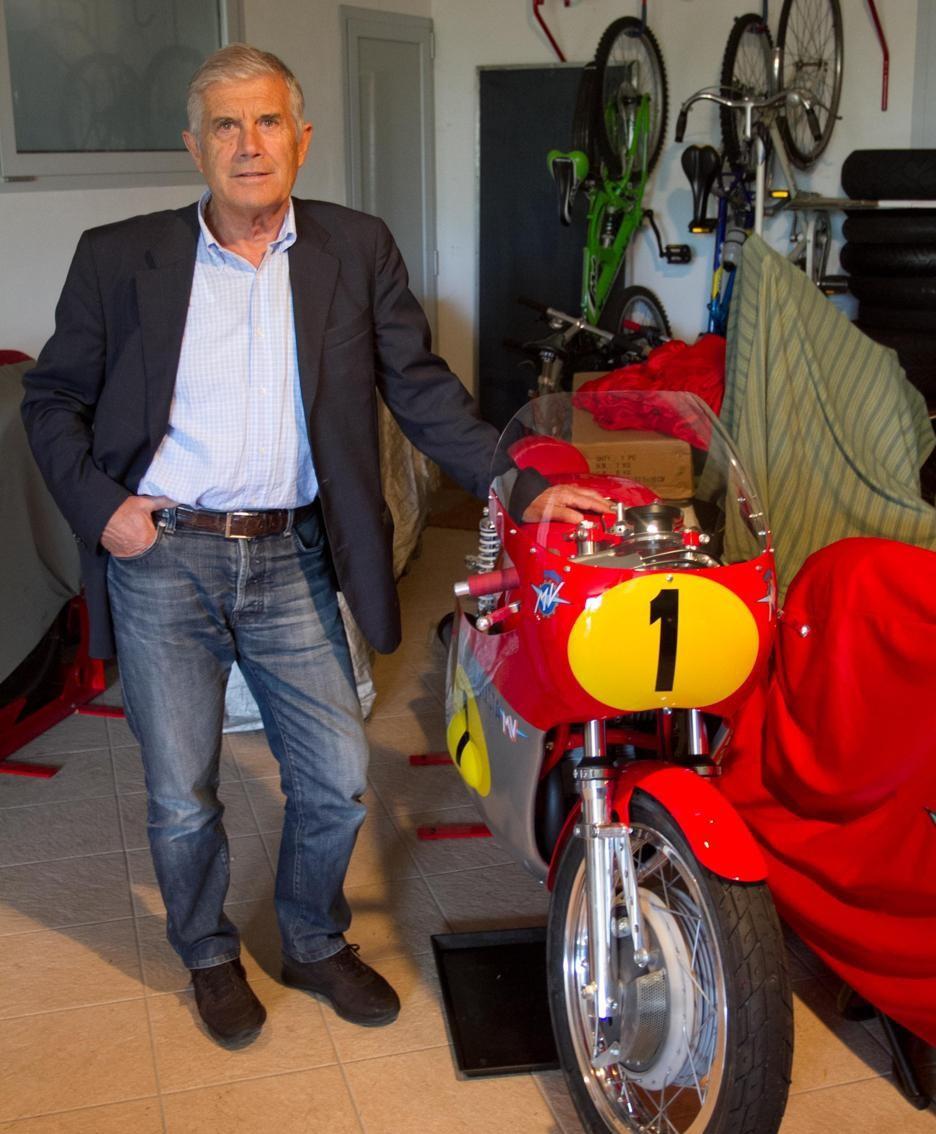 Il campionissimo Giacomo Agostini