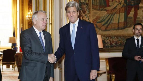 A Parigi ministri esteri Ue e Kerry