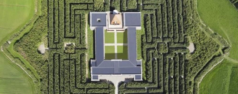 Labirinto più grande del mondo? A Parma Guarda il video dell'enorme opera verde