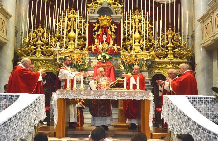 Il cardinale Dionigi Tettamanzi a San Giovanni Bianco