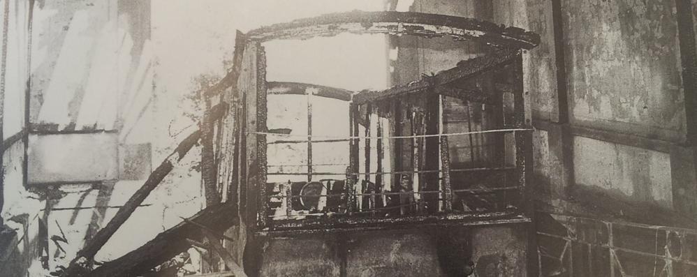 San Vigilio, l'incendio del 1983 che devastò la funicolare - Foto