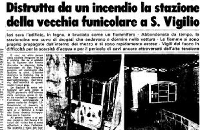 L'articolo su L'Eco di Bergamo del 19 maggio 1983