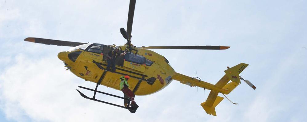 Cordata in Trentino, volo di 15 metri Task force  per un bergamasco