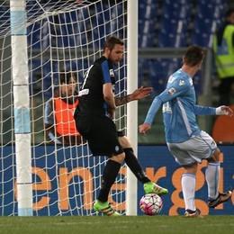 Il gol del 2-0 di Klose al 50' st