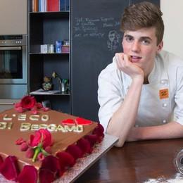 Una passione che più dolce non si può  Jacopo, 15 anni, talento della pasticceria