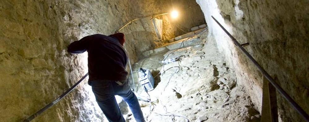 Riapre la Bergamo sotterranea Alla scoperta dei tesori di Città Alta