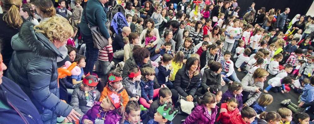 Cartolandia, giovedì le premiazioni   70 scuole bergamasche coinvolte