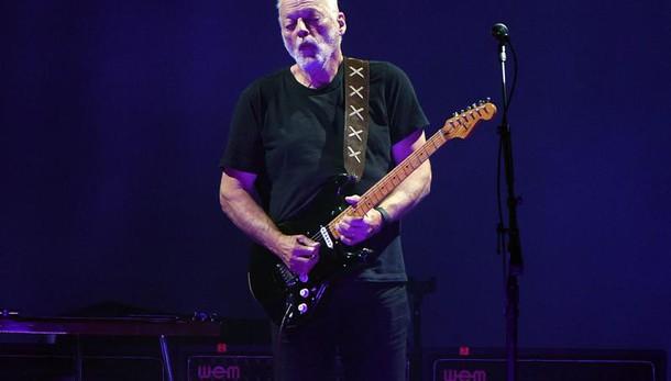 David Gilmour il 7 e 8 luglio a Pompei