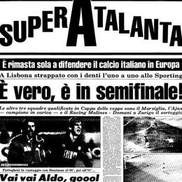 L'Atalanta e quel 16 marzo a Lisbona Che notte magica, tu dove eri? - Video