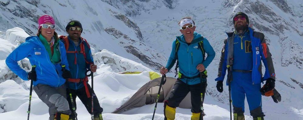 Moro: il mio sogno ora è realtà «Il K2? Lo lascio agli altri» - Foto/video