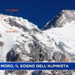 Simone Moro, il sogno dell'alpinista
