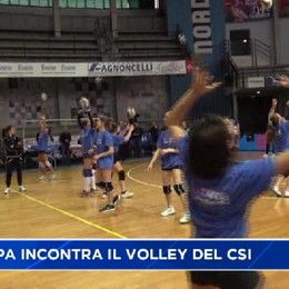 Csi, la Foppa ha incontrato il volley degli oratori con la Volley Tim Cup