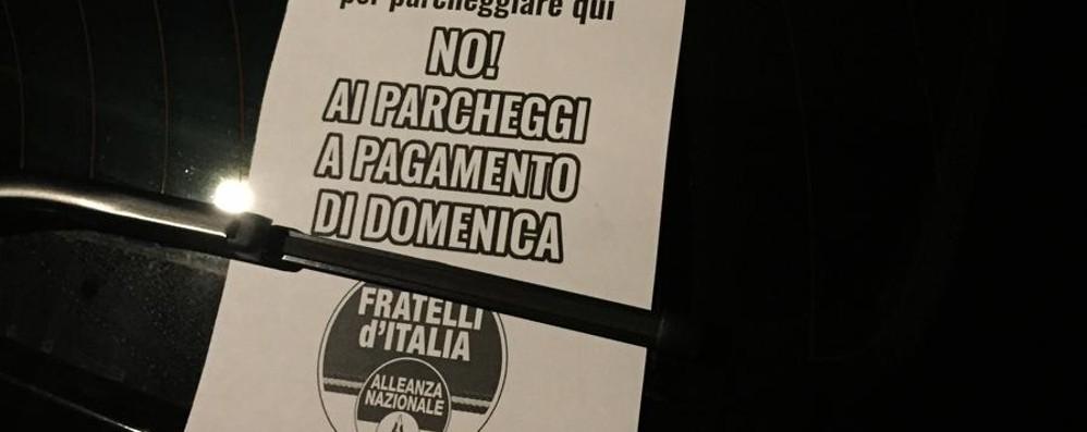 «No alla sosta a pagamento la domenica» Scatta la raccolta firme in XX Settembre