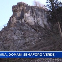 Ponte di Serina, semaforo verde