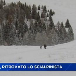 Spiazzi di Gromo, recuperato vivo lo scialpinista disperso
